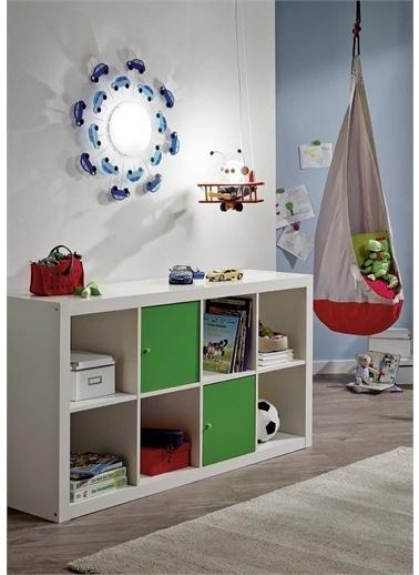 Eglo 92146 Viki Çocuk Odası Duvar/Tavan Armatürü-Mavi Renkli